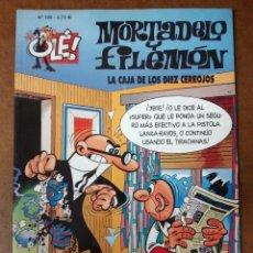 Cómics: MORTADELO Y FILEMON COL. OLE Nº 102 LA CAJA DE LOS DIEZ CERROJOS - EDICIONES B - BUEN ESTADO SUB01MR. Lote 205598146