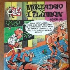 Cómics: MORTADELO Y FILEMON COL. OLE Nº 12 MOSCU 80 - EDICIONES B - BUEN ESTADO - SUB01MR. Lote 205598623