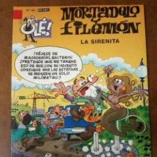 Comics : MORTADELO Y FILEMON COL. OLE Nº 155 LA SIRENITA - EDICIONES B - BUEN ESTADO - SUB01MR. Lote 205598681