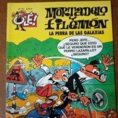 Cómics: MORTADELO Y FILEMON COL. OLE Nº 18 LA PERRA DE LAS GALAXIAS - EDICIONES B - BUEN ESTADO - SUB01MR. Lote 205598777
