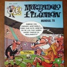 Comics : MORTADELO Y FILEMON COL. OLE Nº 61 MUNDIAL 78 - EDICIONES B - BUEN ESTADO - SUB01MR. Lote 205598995