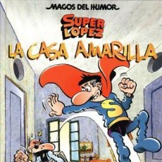 Cómics: SUPER LOPEZ COL. MAGOS DEL HUMOR Nº 108 LA CASA AMARILLA - ED B - CARTONE - IMPECABLE - SUB01MR. Lote 205600666