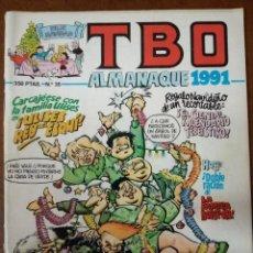 Cómics: TBO Nº 35 ALMANAQUE 1991 - EDICIONES B - SUB01MR. Lote 205600876