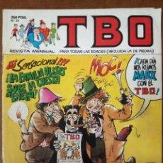 Cómics: TBO Nº 24 - EDICIONES B - SUB01MR. Lote 205600970