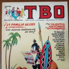 Cómics: TBO Nº 1 - EDICIONES B - MUY BUEN ESTADO - SUB01MR. Lote 205601083