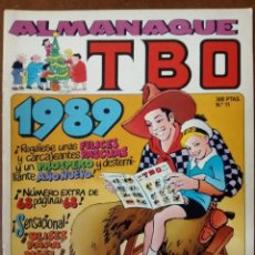 Cómics: TBO Nº 11 ALMANAQUE 1989 - EDICIONES B - BUEN ESTADO - SUB01MR. Lote 205601273