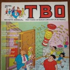 Cómics: TBO Nº 9 - EDICIONES B - BUEN ESTADO - SUB01MR. Lote 205601332