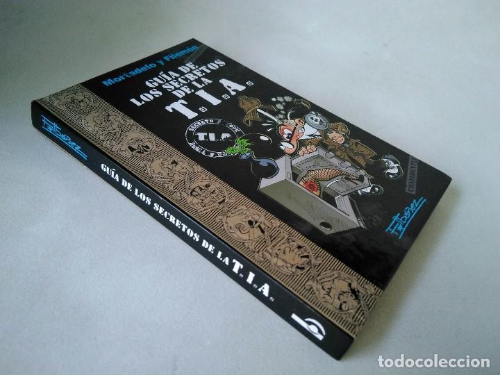 MORTADELO Y FILEMÓN. GUÍA DE LOS SECRETOS DE LA T.I.A. (Tebeos y Comics - Ediciones B - Humor)