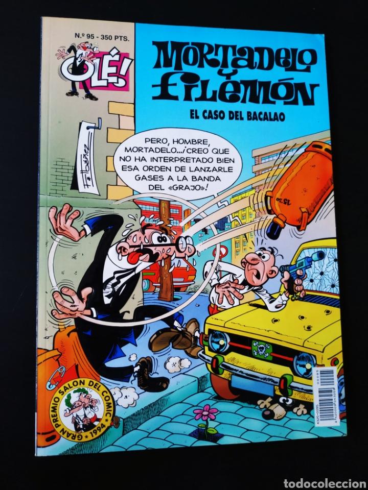 EXCELENTE ESTADO MORTADELO Y FILEMON 95 EDICIONES B 1° PRIMERA EDICION OLE (Tebeos y Comics - Ediciones B - Humor)