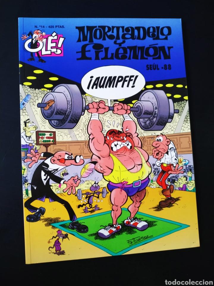 CASI EXCELENTE ESTADO MORTADELO Y FILEMON 14 EDICIONES B 3° TERCERA EDICION OLE (Tebeos y Comics - Ediciones B - Humor)