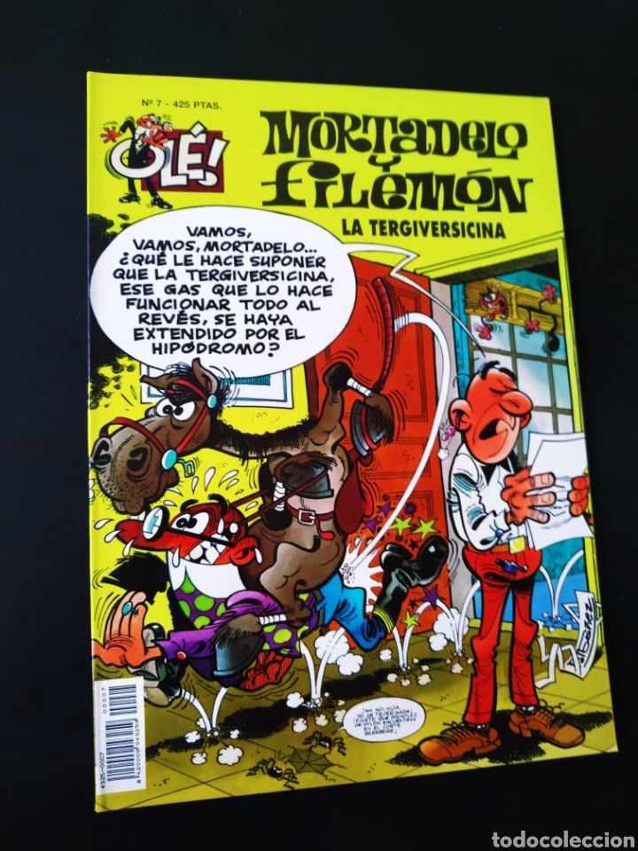 EXCELENTE ESTADO MORTADELO Y FILEMON 7 EDICIONES B 3° TERCERA EDICION OLE (Tebeos y Comics - Ediciones B - Humor)