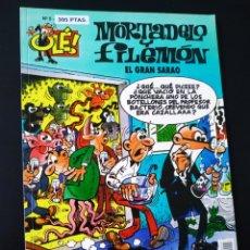 Cómics: CASI EXCELENTE ESTADO MORTADELO Y FILEMON 5 EDICIONES B 1° PRIMERA EDICION OLE. Lote 205653068