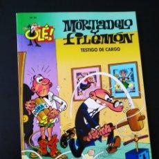 Cómics: EXCELENTE ESTADO MORTADELO Y FILEMON 24 EDICIONES B 4° CUARTA EDICION OLE. Lote 205655901