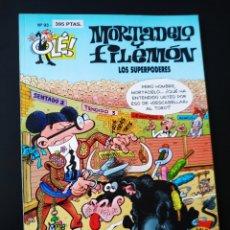 Cómics: CASI EXCELENTE ESTADO MORTADELO Y FILEMON 93 EDICIONES B 1° PRIMERA EDICION OLE. Lote 205656682