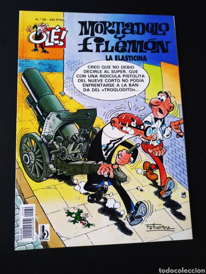 MUY BUEN ESTADO MORTADELO Y FILEMON 39 EDICIONES B 3° TERCERA EDICION OLE (Tebeos y Comics - Ediciones B - Humor)