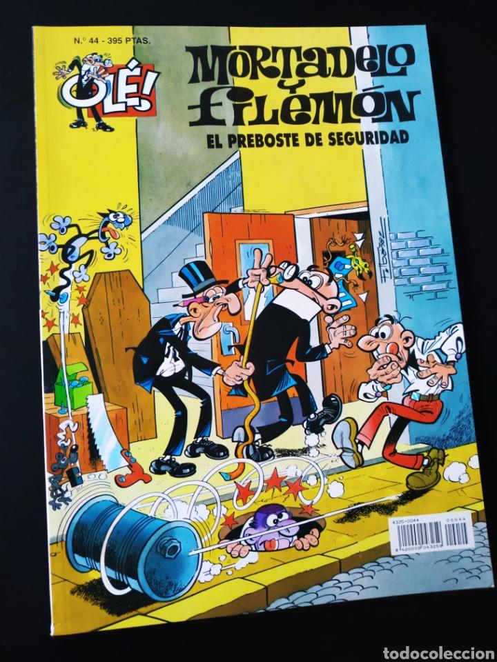 MUY BUEN ESTADO MORTADELO Y FILEMON 44 EDICIONES B 2° SEGUNDA EDICION OLE (Tebeos y Comics - Ediciones B - Humor)