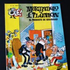 Cómics: MUY BUEN ESTADO MORTADELO Y FILEMON 44 EDICIONES B 2° SEGUNDA EDICION OLE. Lote 205661662