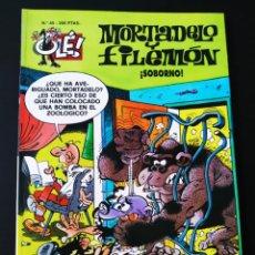 Cómics: MUY BUEN ESTADO MORTADELO Y FILEMON 45 EDICIONES B 2° SEGUNDA EDICION OLE. Lote 205662022