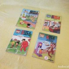 Cómics: LOTE DE 4 COMICS O TEBEOS DE ZIPI Y ZAPE, OLÉ, 90´S, BARCELONA. Lote 205672635
