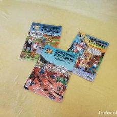 Cómics: LOTE DE 3 COMICS O TEBEOS DE MORTADELO Y FILEMÓN, 90´S, BARCELONA. Lote 205673093