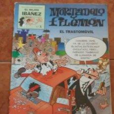 Cómics: MORTADELO FILEMON EL TRASTOMÓVIL 1995. Lote 205820456