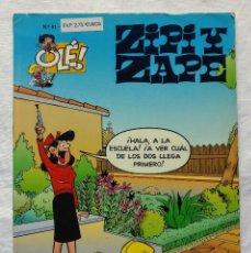 Cómics: ZIPI Y ZAPE - JOSE ESCOBAR - GRUPO ZETA EDICIONES B - OLE (Nº 41) - 2 ED (1998). Lote 206166115