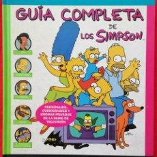 Cómics: LOS SIMPSON, GUÍA COMPLETA - 2000~9ª ED. - MATT GROENNING - EDICIONES B - PJRB. Lote 206227356