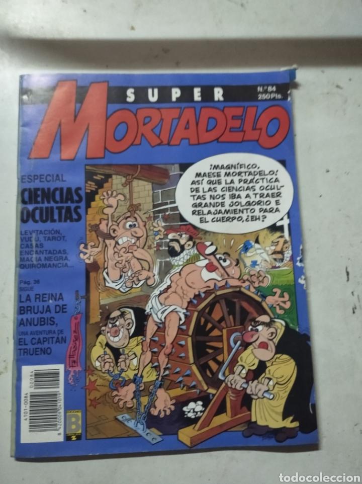 SUPER MORTADELO N°84 CON DEFECTO DE FABRICACIÓN (Tebeos y Comics - Ediciones B - Clásicos Españoles)