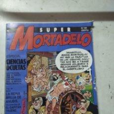 Cómics: SUPER MORTADELO N°84 CON DEFECTO DE FABRICACIÓN. Lote 206499715