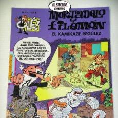 Cómics: OLÉ! Nº 174, MORTADELO Y FILEMON, EDICIONES B, FORMATO GRANDE, EL KAMIKAZE REGULEZ. Lote 206812210