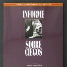 Cómics: INFORME SOBRE CIEGOS – ERNESTO SÁBATO Y ALBERTO BRECCIA – LOS LIBROS DE CO&CO. Lote 206834747