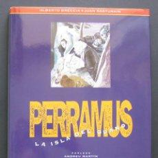 Cómics: PERRAMUS – LA ISLA DEL GUANO – ALBERTO BRECCIA Y JUAN SASTURAIN – LOS LIBROS DE CO&CO. Lote 206835042