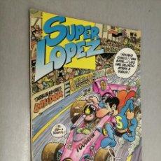 Cómics: SÚPER LÓPEZ Nº 4 / EDICIONES B 1987. Lote 206877960