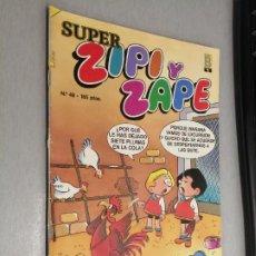Cómics: SÚPER ZIPI Y ZAPE Nº 48 / EDICIONES B 1988. Lote 206921732