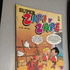 Cómics: SÚPER ZIPI Y ZAPE Nº 48 / EDICIONES B 1988. Lote 206922282