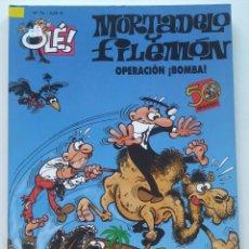 Cómics: CÓMIC OLÉ! MORTADELO Y FILEMÓN Nº 75 OPERACIÓN ¡BOMBA! - GRUPO ZETA EDICIONES B 2008. Lote 206980905