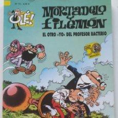Cómics: CÓMIC OLÉ! MORTADELO Y FILEMÓN Nº 74 EL OTRO YO DEL PROFESOR BACTERIO - GRUPO ZETA EDICIONES B 2008. Lote 206981240