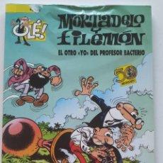 Cómics: CÓMIC OLÉ! MORTADELO Y FILEMÓN Nº 74 EL OTRO YO DEL PROFESOR BACTERIO - GRUPO ZETA EDICIONES B 2008. Lote 206981425