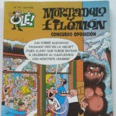 Cómics: CÓMIC OLÉ! MORTADELO Y FILEMÓN Nº 73 CONCURSO OPOSICIÓN - GRUPO ZETA EDICIONES B 1999. Lote 206981601