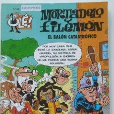 Cómics: CÓMIC OLÉ! MORTADELO Y FILEMÓN Nº 63 EL BALÓN CATASTRÓFICO - GRUPO ZETA EDICIONES B 1999. Lote 206981975