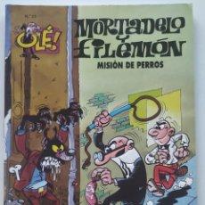 Cómics: CÓMIC OLÉ! MORTADELO Y FILEMÓN Nº 51 MISIÓN DE PERROS - GRUPO ZETA EDICIONES B 1997. Lote 206982996
