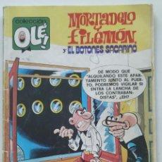 Cómics: CÓMIC OLÉ! MORTADELO Y FILEMÓN Y EL BOTONES SACARINO Nº 167 - M.96 GRUPO ZETA EDICIONES B 1988. Lote 206983681