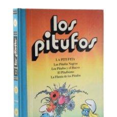 Cómics: LOS PITUFOS. VOLUMEN 2. LA PITUFITA. LOS PITUFOS NEGROS. LOS PITUFOS Y EL HUEVO. EL PITUFÍSIMO. LA F. Lote 207020915
