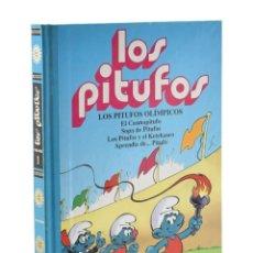 Cómics: LOS PITUFOS. VOLUMEN 1. LOS PITUFOS OLÍMPICOS. EL COSMOPITUFO. SOPA DE PITUFOS. LOS PITUFOS Y EL KET. Lote 207021010