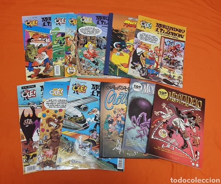 LOTE DE 12 COMICS DE MORTADELO Y FILEMON, DISTINTAS COLECCIONES (Tebeos y Comics - Ediciones B - Humor)