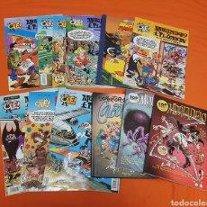 Cómics: LOTE DE 12 COMICS DE MORTADELO Y FILEMON, DISTINTAS COLECCIONES. Lote 207784730