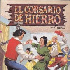 Comics : EL CORSARIO DE HIERRO - 29 - LOS COMANDOS DEL TERROR - EDICION HISTORICA - 1987 -. Lote 208146873