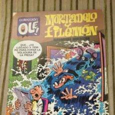 Cómics: MORTADELO Y FILEMON EDICIONES B ENERO 1987. Lote 208172106
