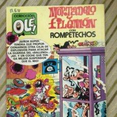 Cómics: MORTADELO Y FILEMON/ EDICIONES B/ 2EDICION JUNIO 1987. Lote 208172608