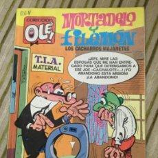 Cómics: MORTADELO Y FILEMON / EDICIONES B/ 1ERA EDICIÓN ABRIL 1988. Lote 208173321